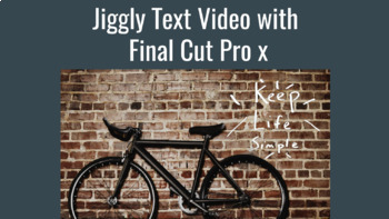 Jiggly Text with Final Cut Pro X - Great Effect for TPT Se