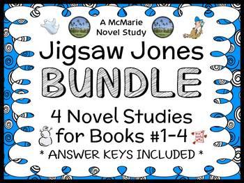 Jigsaw Jones BUNDLE (James Preller) 4 Novel Studies : Book