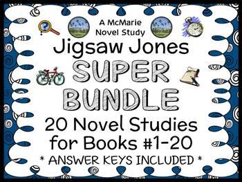 Jigsaw Jones SUPER BUNDLE (Preller) 20 Novel Studies: Book
