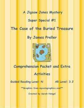 Jigsaw Jones The Case Of The Buried Treasure James Preller
