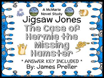 Jigsaw Jones: The Case of Hermie the Missing Hamster (Jame