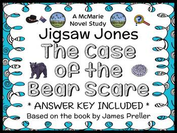 Jigsaw Jones: The Case of the Bear Scare (James Preller) N
