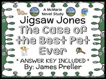 Jigsaw Jones: The Case of the Best Pet Ever (James Preller