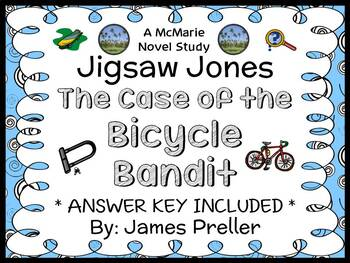 Jigsaw Jones: The Case of the Bicycle Bandit (James Prelle