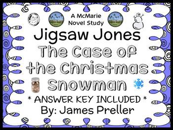 Jigsaw Jones: The Case of the Christmas Snowman (James Pre