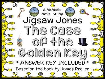 Jigsaw Jones: The Case of the Golden Key (Preller) Novel S