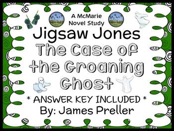 Jigsaw Jones: The Case of the Groaning Ghost (James Prelle