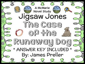 Jigsaw Jones: The Case of the Runaway Dog (Preller) Novel