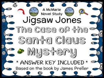 Jigsaw Jones: The Case of the Santa Claus Mystery (James P