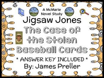 Jigsaw Jones: The Case of the Stolen Baseball Cards (James