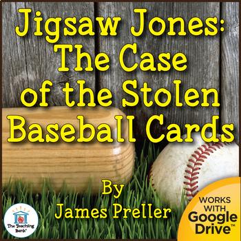 Jigsaw Jones: The Case of the Stolen Baseball Cards Unit N