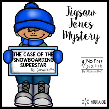 Jigsaw Jones and The Case of Snowboarding Superstar Guided