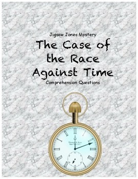 Jigsaw Jones and the Case of the Race Against Time compreh