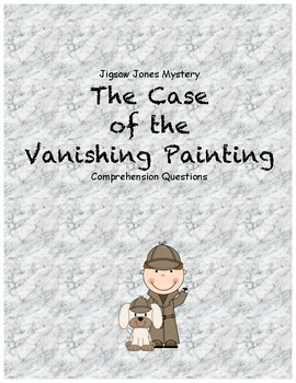 Jigsaw Jones and the Case of the Vanishing Painting compre