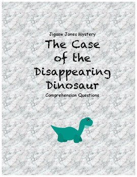 Jigsaw Jones and the case of the Disappearing Dinosaur com