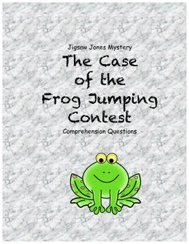 Jigsaw Jones and the case of the frog jumping contest comp