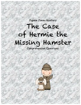 Jigsaw Jones & the Case of Hermie the Missing Hamster comp