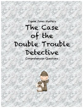 Jigsaw Jones & the Case of the Double Trouble Detective co