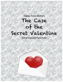 Jigsaw Jones & the Case of the Secret Valentine comprehens