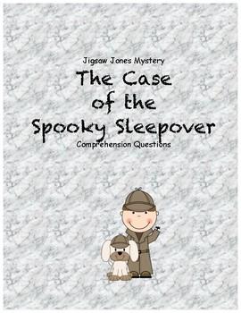 Jigsaw Jones & the Case of the Spooky Sleepover comprehens