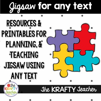 Jigsaw Resources & printables for ANY Text - Research Base