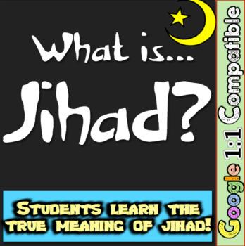 Jihad: What is it? Students understand meaning behind jiha