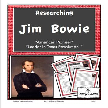 Jim Bowie Informative Writing