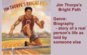 Jim Thorpe's Bright Path Vocabulary Presentation