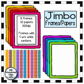 Jimbo Frames and Papers