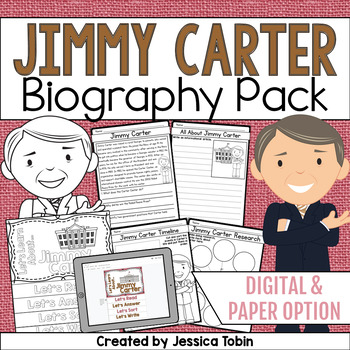 Jimmy Carter Biography Pack