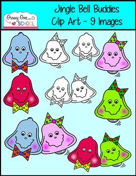 Jingle Bell Buddies Clip Art