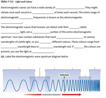 Jnr Science - Physics - Light