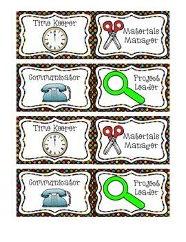 Job Badges