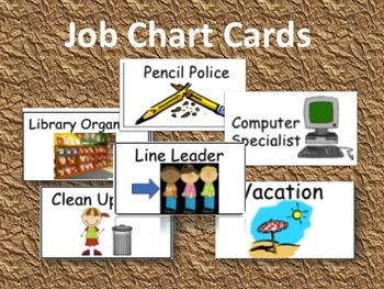 Job Chart Cards