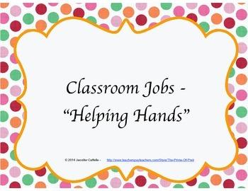 Job Chart - Helping Hands