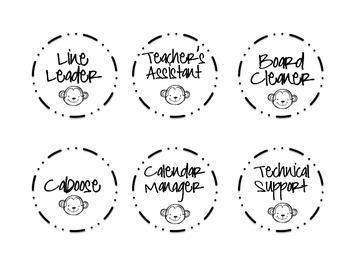 Job Labels - Monkeys