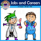 Job and Career Clip Art (Doctor, Judge, Police, Chef, Scie