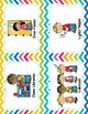 Jobs In The Classroom (18 jobs) - Rainbow Chevron Theme -