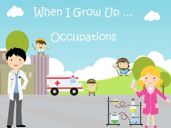 Jobs and Occupations PreK and Kinder Pack