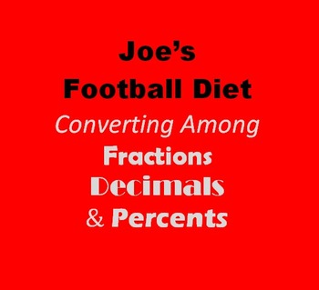Joe's Football Diet