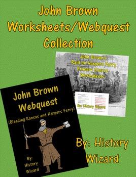John Brown Worksheets/Webquest Collection