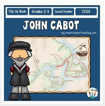 Early Explorers: John Cabot Unit with Articles, Activities