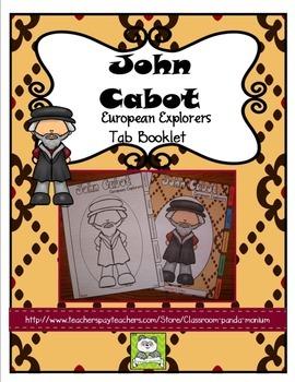 John Cabot Tab Booklet