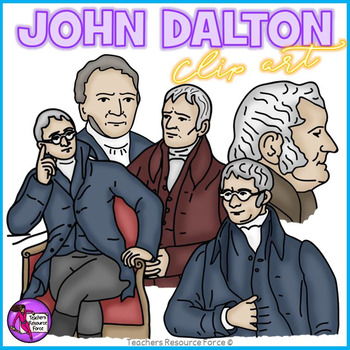 John Dalton clip art