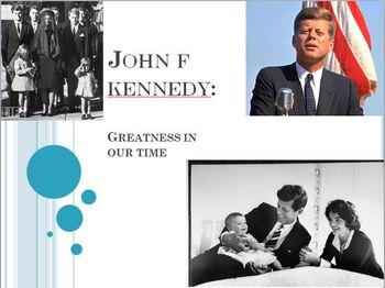 John F. Kennedy PowerPoint Lesson