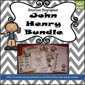 John Henry Folktale Bundle