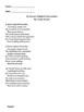 """John Keats """"In Drear Night December"""" Winter Activity"""