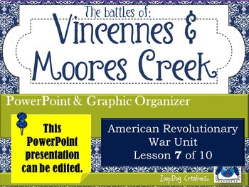 Battle of Vincennes - Battle of Moore's Creek - John Paul Jones