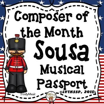 John Philip Sousa Passport (Composer of the Month)