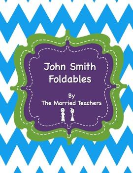 John Smith Interactive Historical Figure Foldables